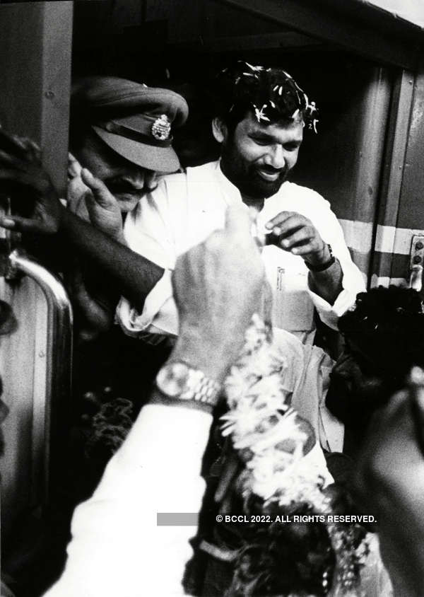 Rare pictures of late Union Minister Ram Vilas Paswan
