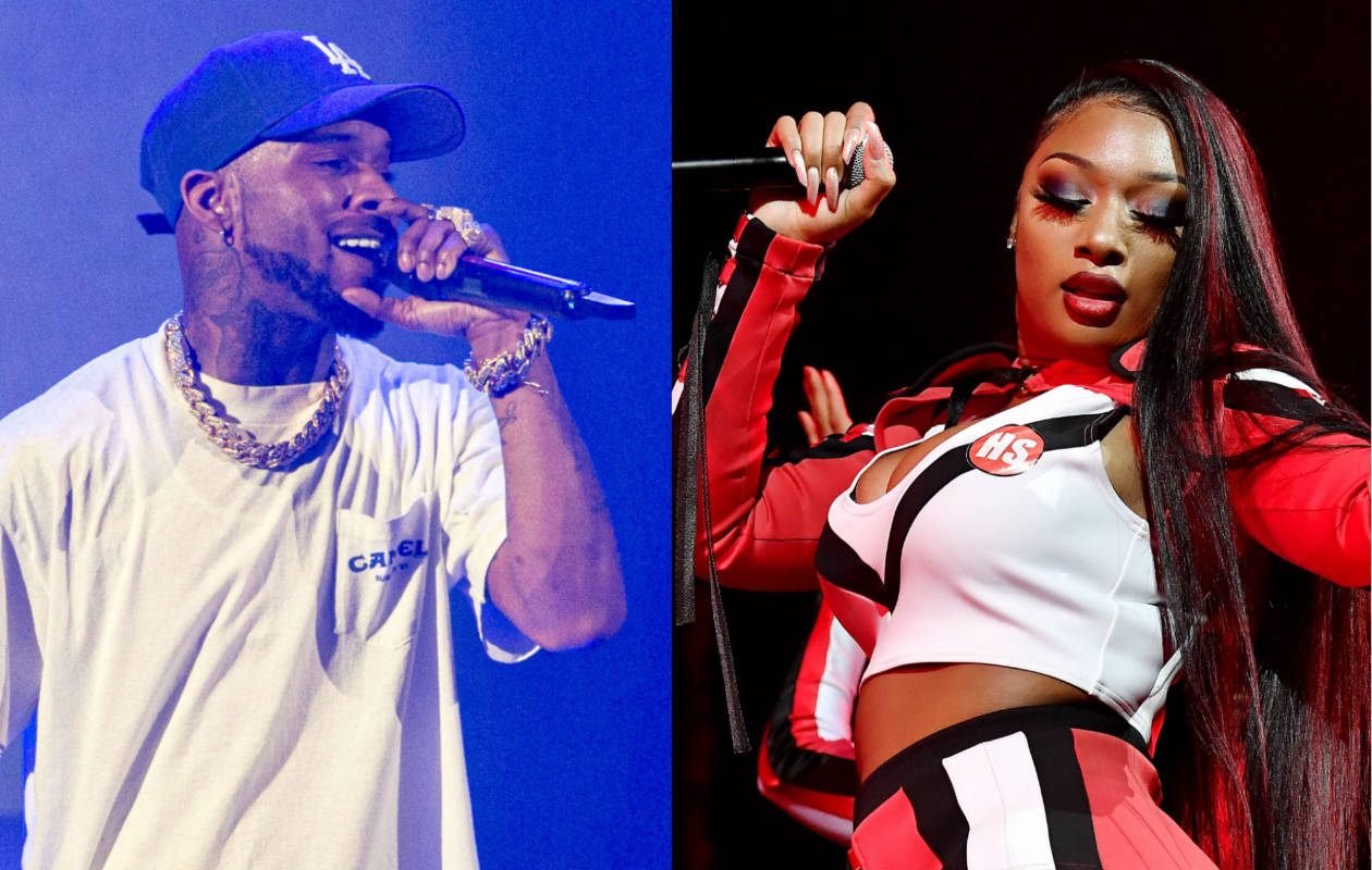 Rapper Tory Lanez charged with assault in connection with the shooting of Megan Thee Stallion
