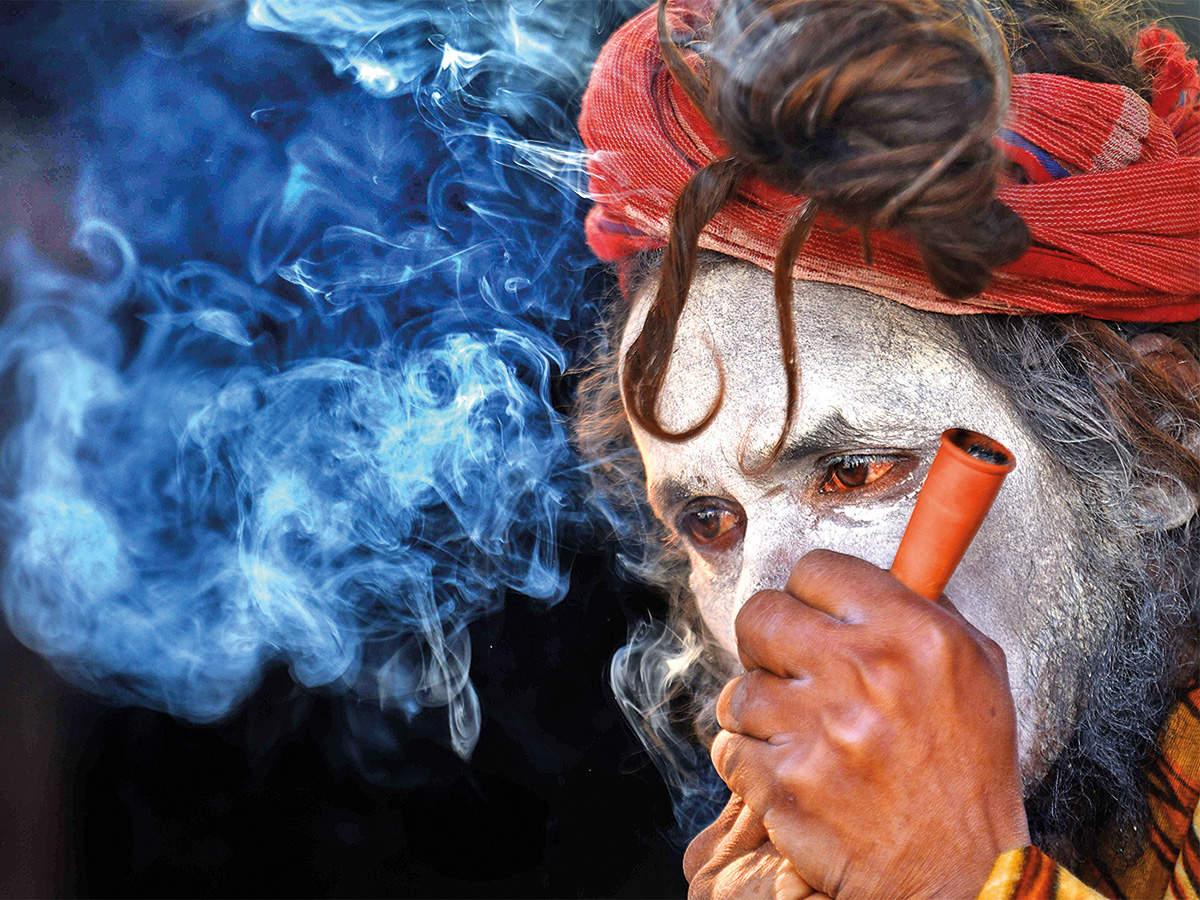 Monk-smoking