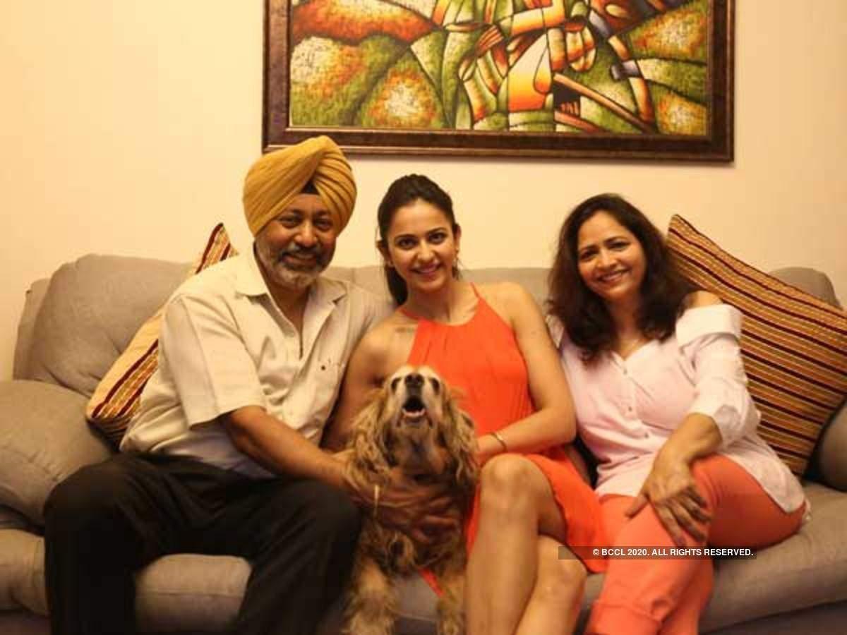 Rakul Preet Singh Parents.