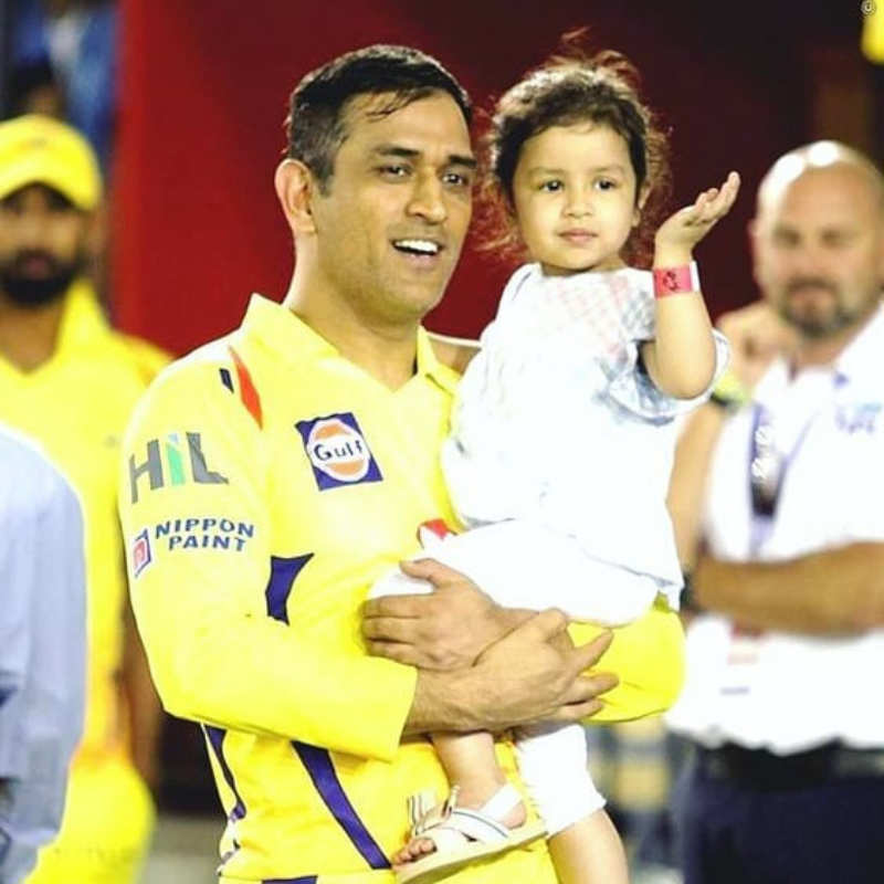 MS Dhoni's daughter gets rape threats on social media after CSK loses to KKR