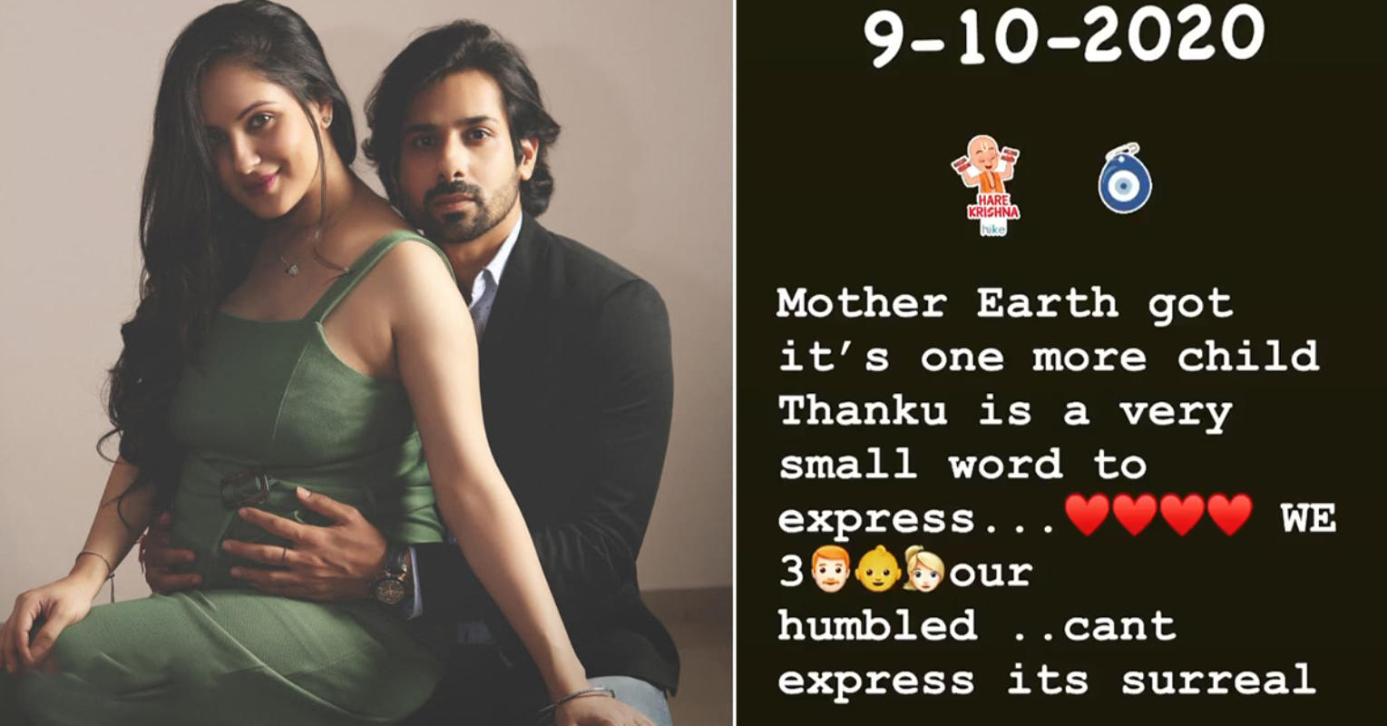 Puja Banerjee and Kunal Verma blessed with a baby boy