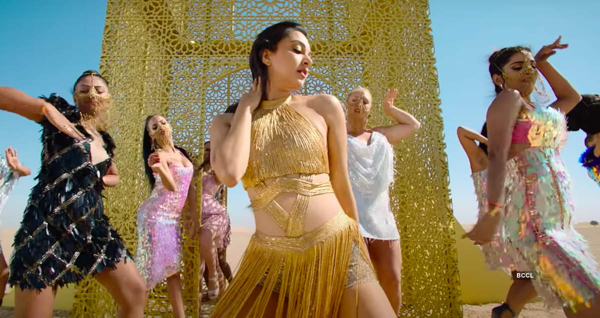 Kiara Advani sets the temperature high with her moves in the song 'Burj Khalifa'