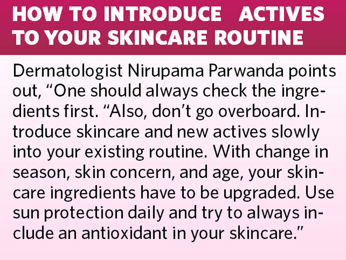 How to introduce actives to your skincare routine