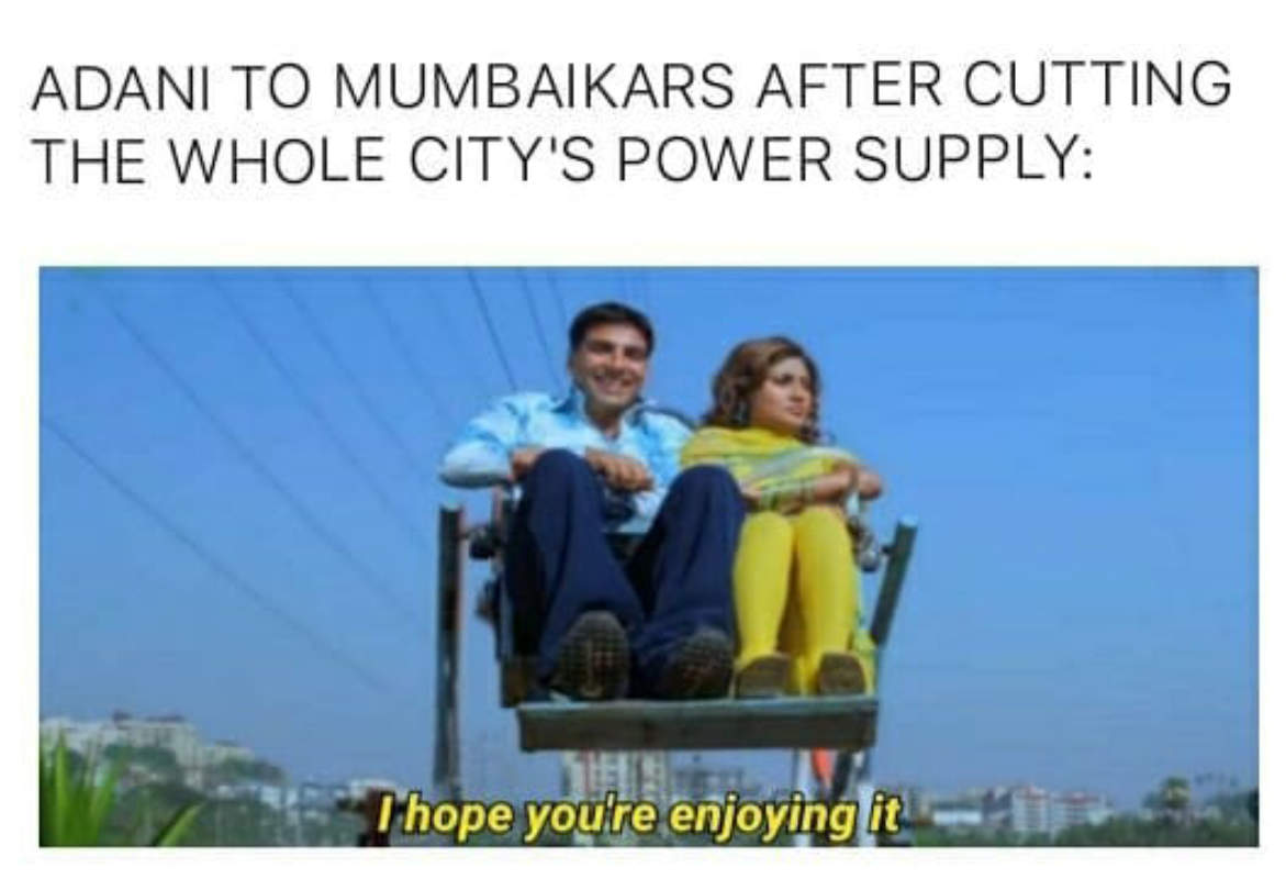 Mumbai Power Cut Hilarious Memes Sweep The Internet After Power Outage Photogallery Etimes