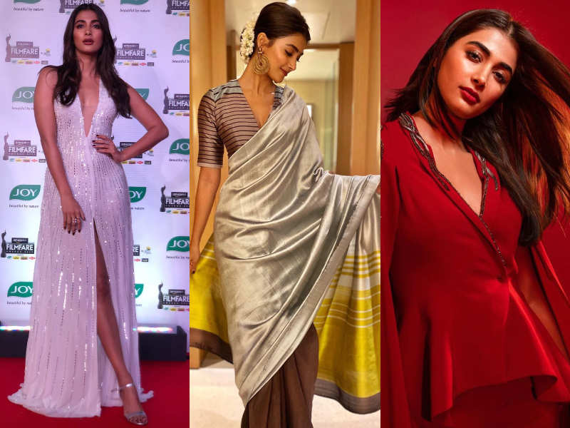 Happy birthday Pooja Hegde: FIVE times the gorgeous diva set the internet ablaze with her versatile outfits - Times of India