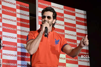 Hrithik at launch