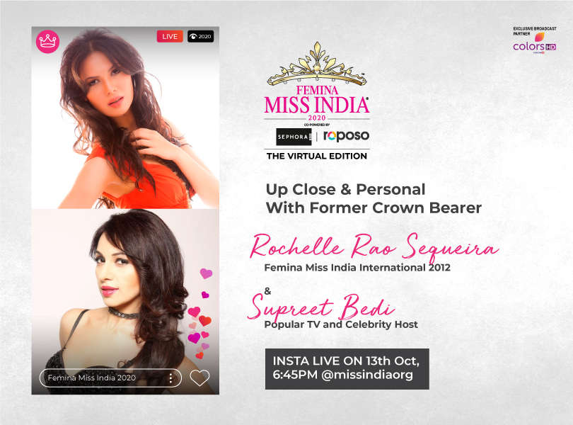 Stay tuned as we go live with Rochelle Rao and Supreet Bedi