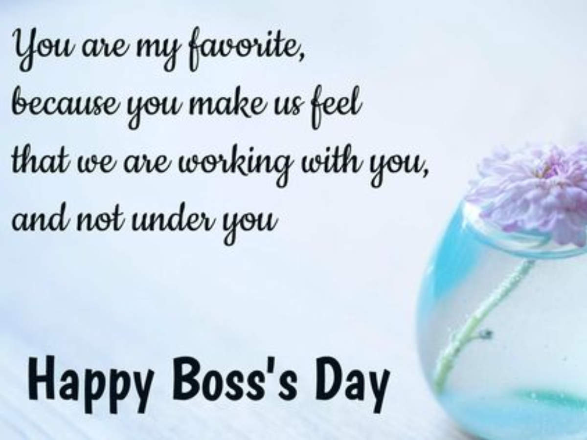 Happy Boss's Day 2020: Wishes, Messages, Quotes & Images