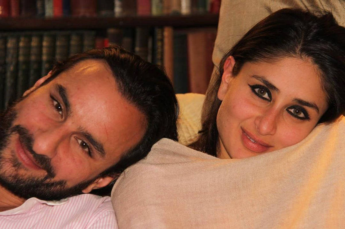 Saif Ali Khan & Kareena Kapoor Khan share a romantic picture, celebrate their 8th wedding anniversary