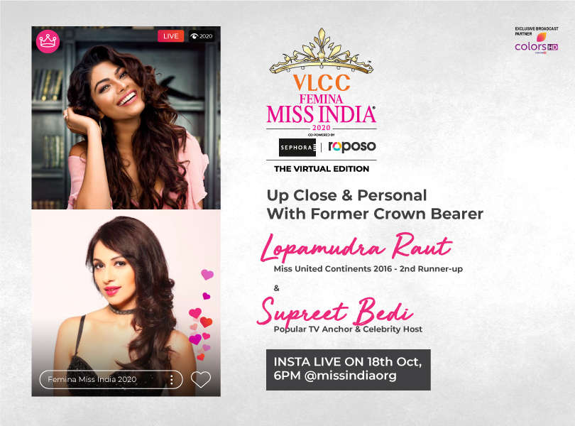 Stay tuned as we go live with Lopamudra Raut and Supreet Bedi