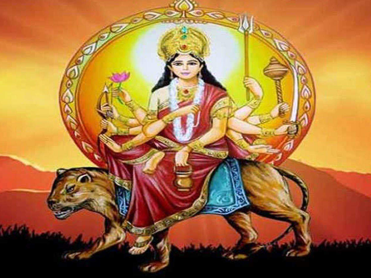 Navratri Day 3 Mantra: Maa Chandraghanta mantra & puja vidhi - Times of  India