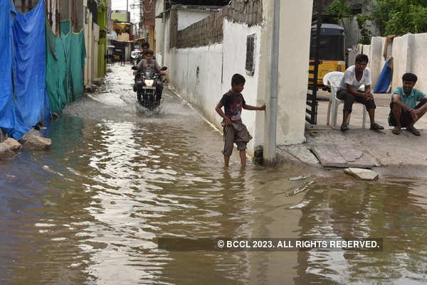 Flash floods hit Hyderabad again as rains return