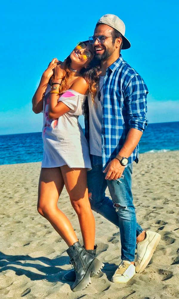 Rithvik Dhanjani and Monica Dogra spark dating rumours