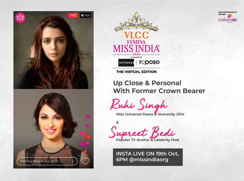 Stay tuned as we go live with Ruhi Singh and Supreet Bedi