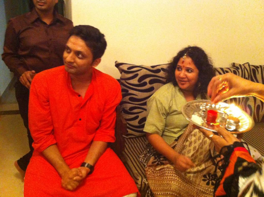 Amid new jewellery ad controversy, Mohd Zeeshan Ayyub's wife Rasika shares photos from her baby shower