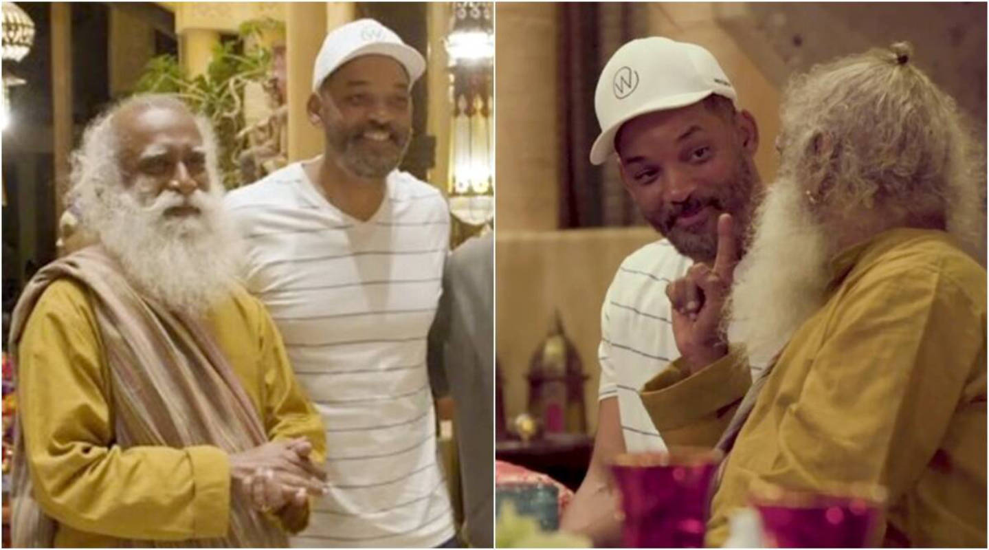 Will Smith meets Sadhguru and shares inside pictures of their rendezvous