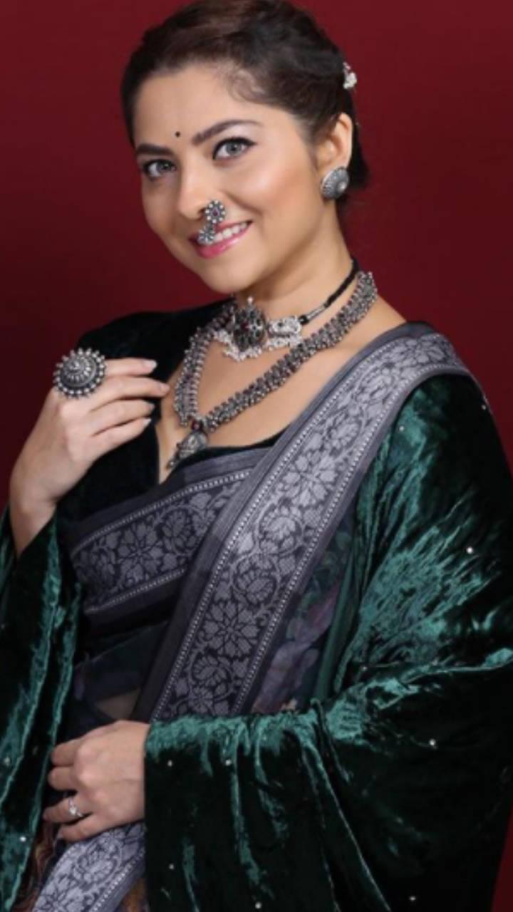 Glamorous saree looks of Marathi TV actresses | Times of India