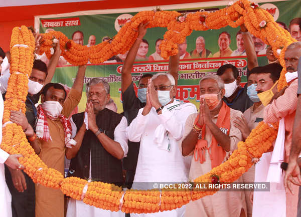 Bihar CM Nitish Kumar intensifies election campaign