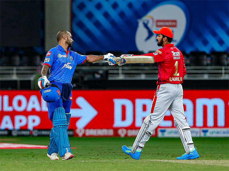 IN PICS: How Punjab beat Delhi despite Dhawan's historic ton