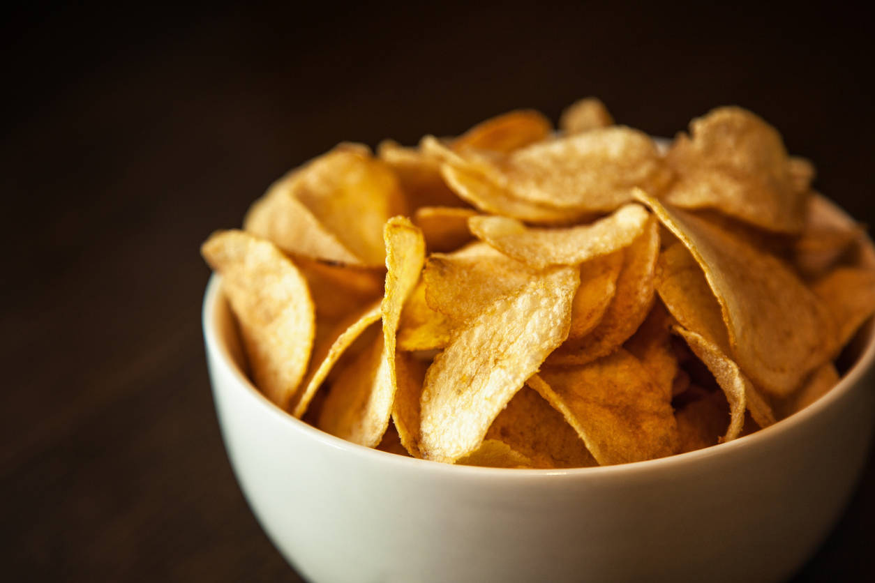 How to make healthier potato chips
