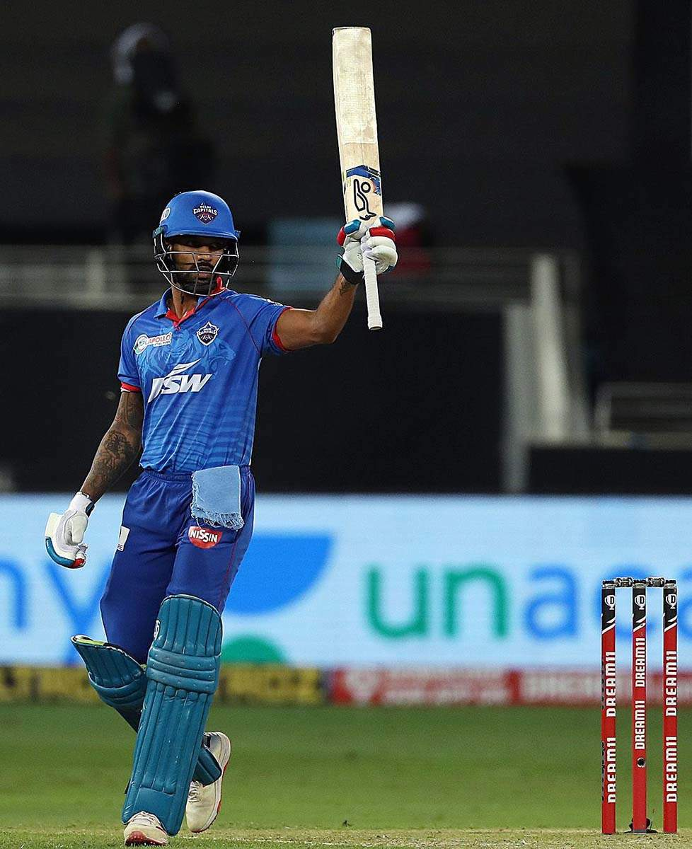 DC's Shikhar Dhawan becomes fifth player to surpass 5000 run mark in IPL