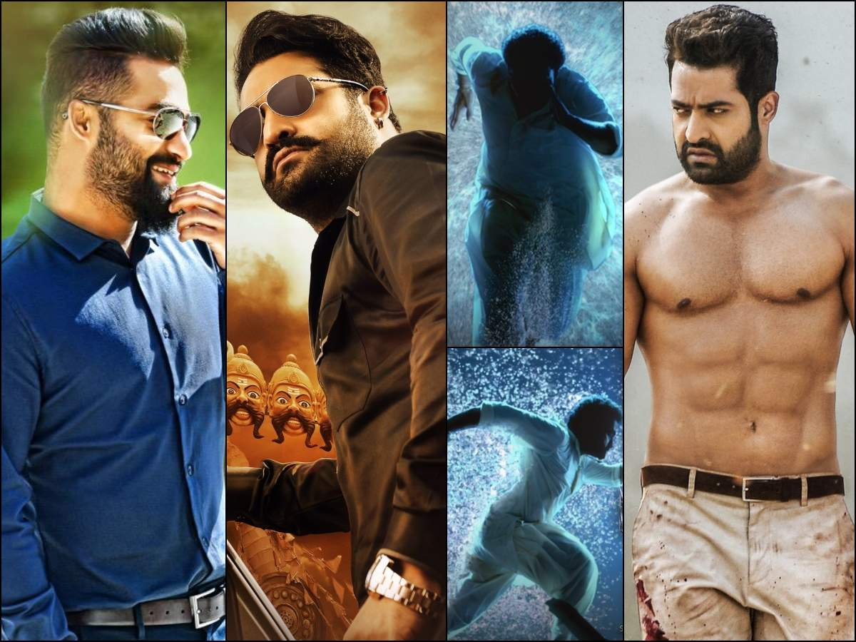 Throwback: NTR's first look posters