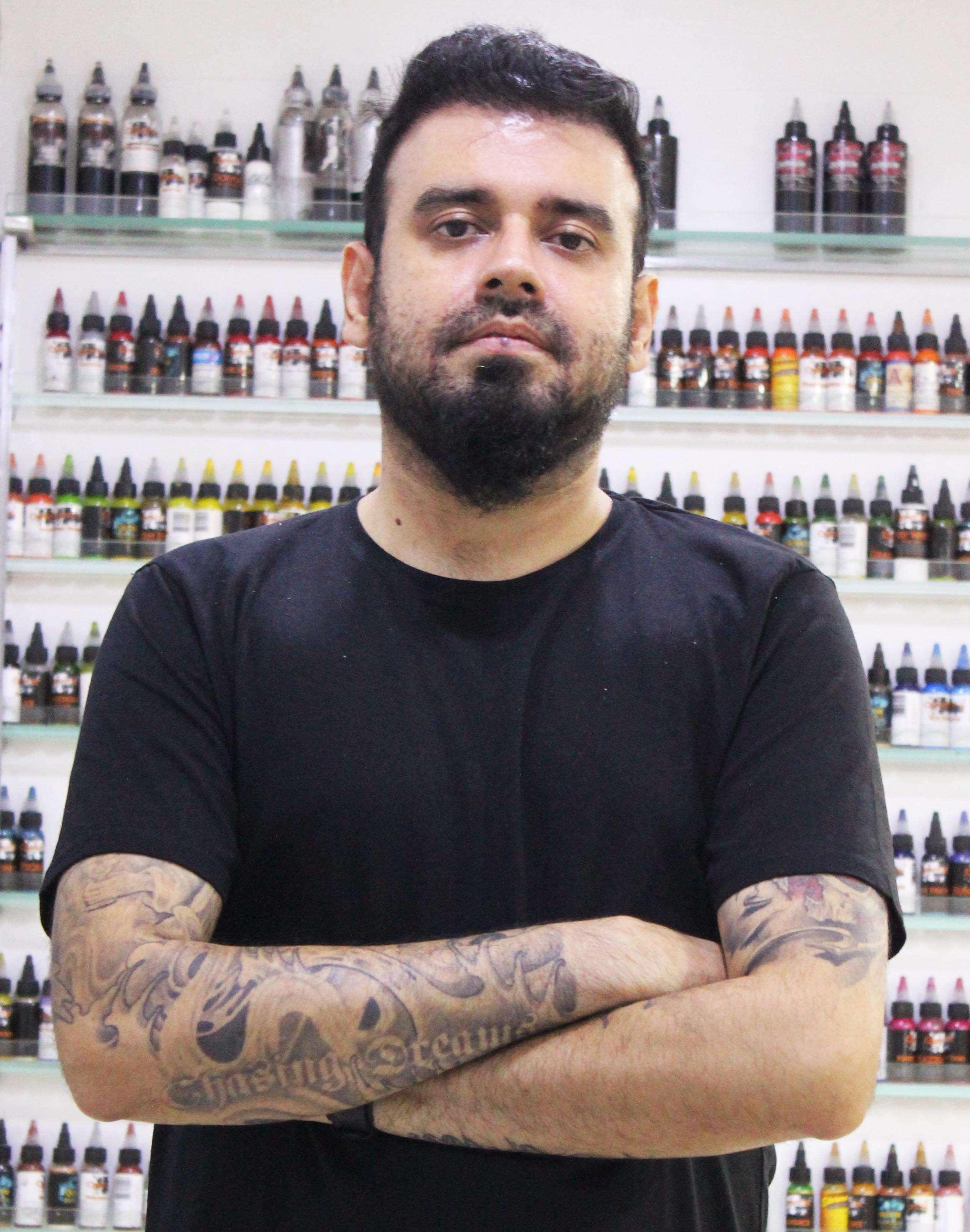 Lokesh Verma - Founder of Devil'z Tattooz