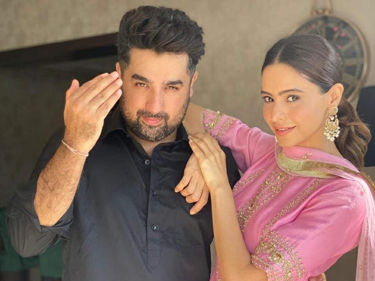 Aamna Sharif with her husband Amit Kapoor