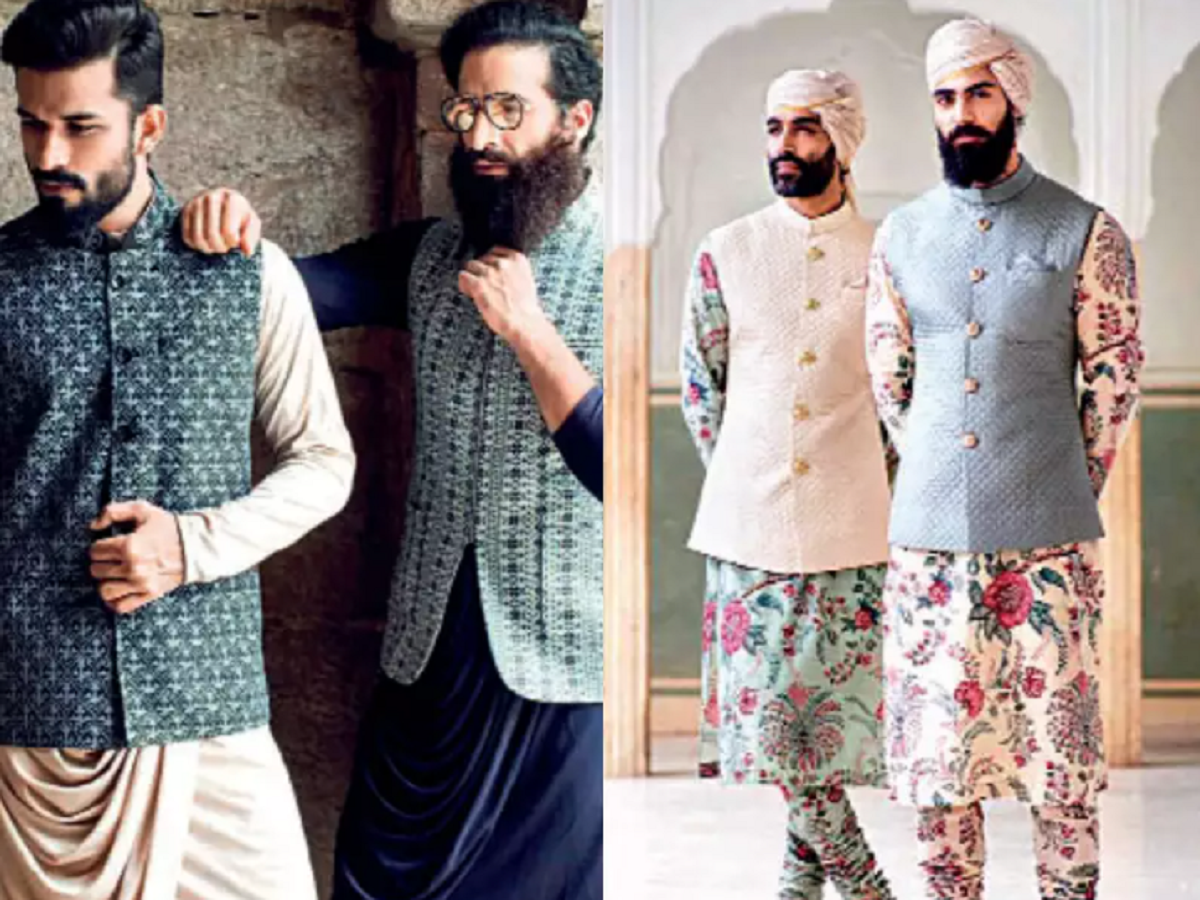 Classic Nehru jackets for men for pairing with kurta-pyjama sets