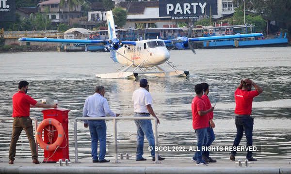 India's first seaplane headed to Gujarat makes night halt in Goa