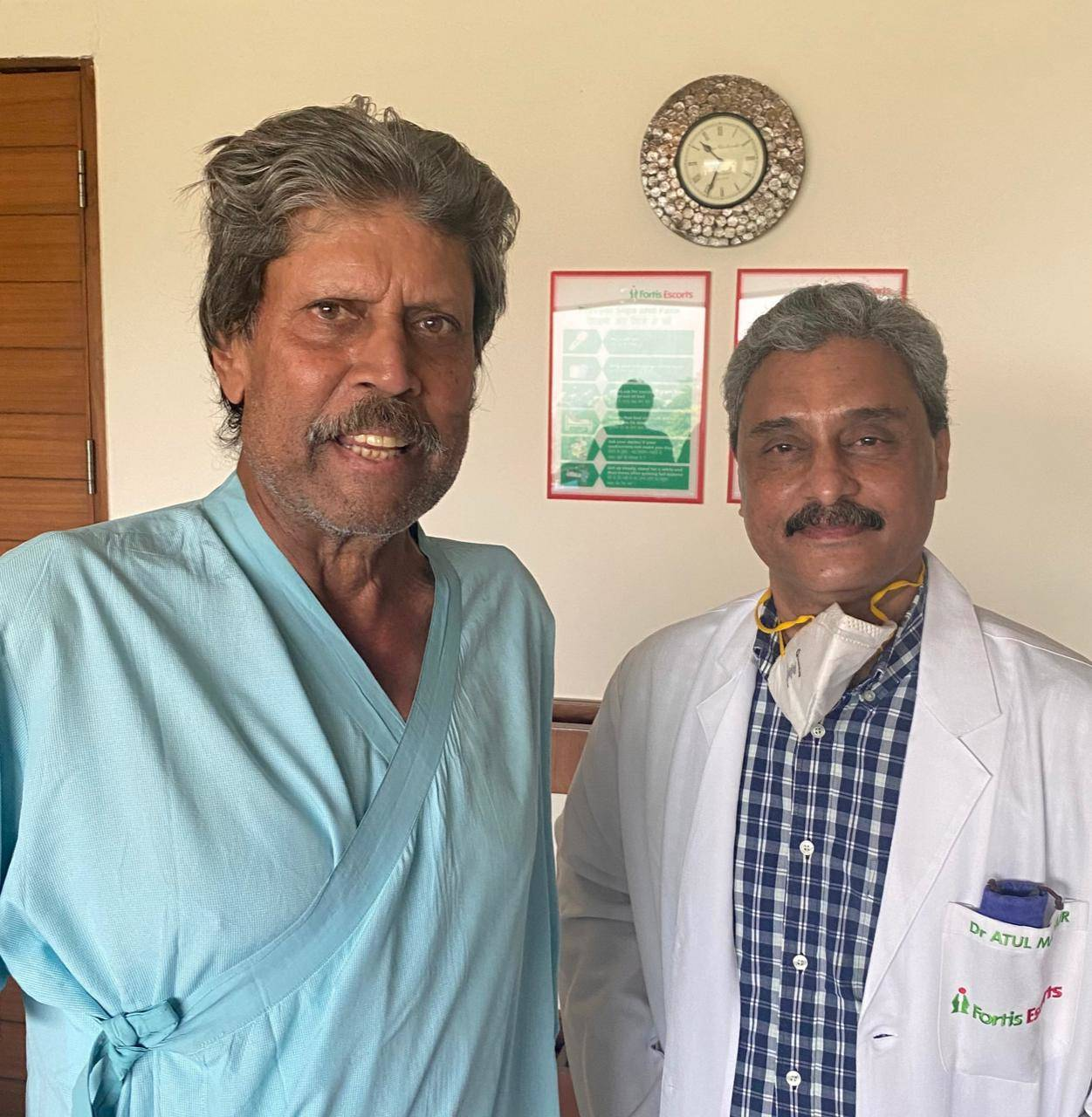 Kapil Dev discharged from hospital after heart surgery; Chetan Sharma shares pictures