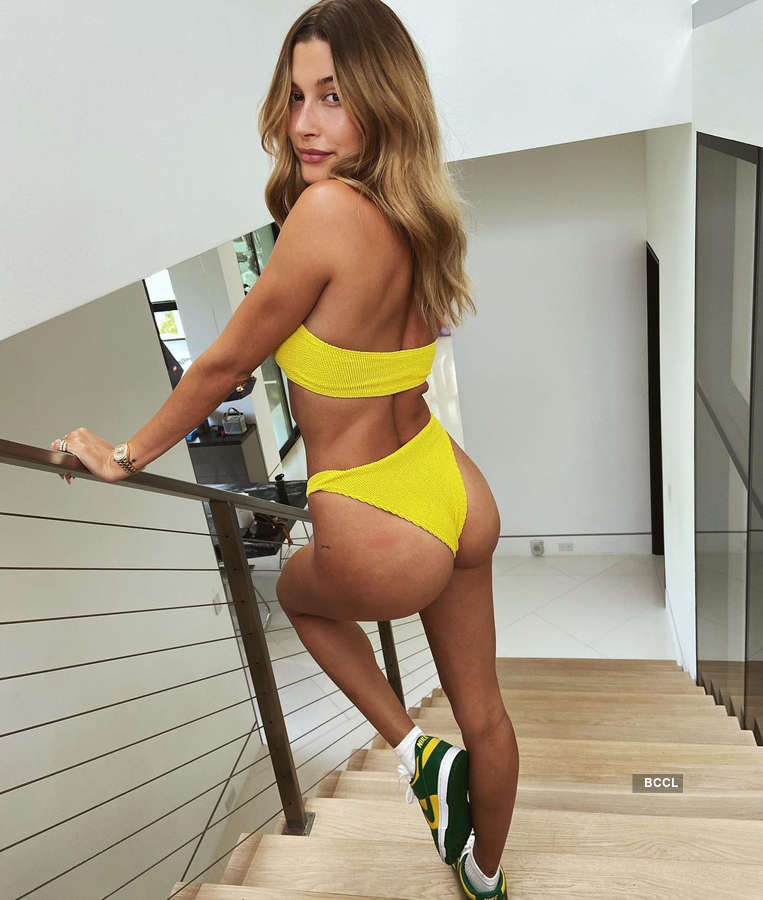 Hailey Bieber ups the glam quotient with her alluring pictures