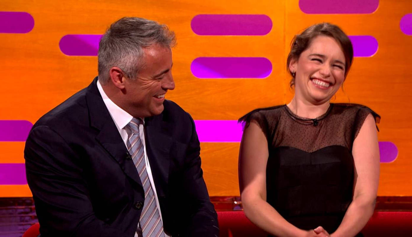 These throwback pictures of Emilia Clarke with 'Friends' actor Matt LeBlanc go viral!