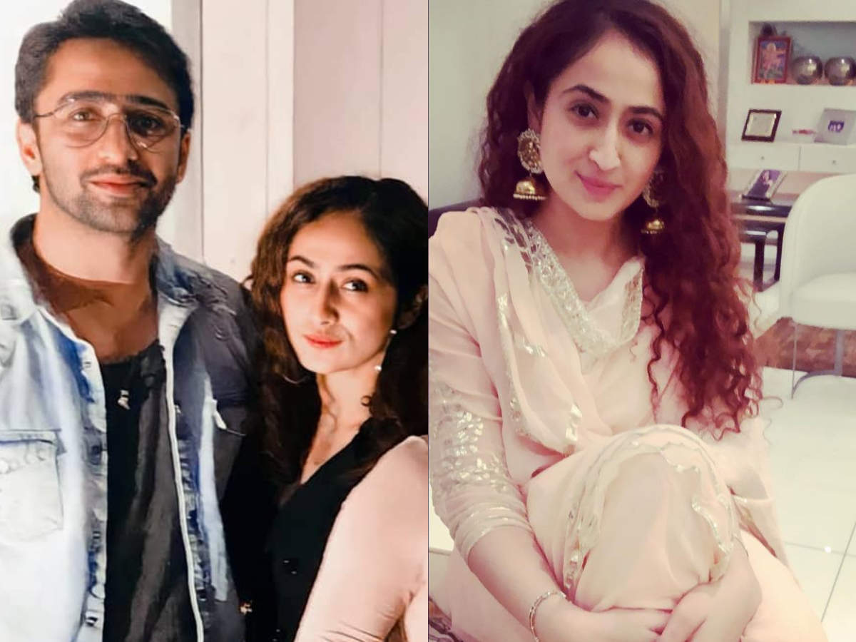 Shaheer Sheikh makes his relationship with Ruchikaa Kapoor insta-official;  a look at how their love story began | The Times of India