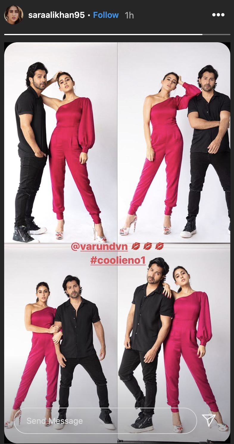 Varun Dhawan and Sara Ali Khan