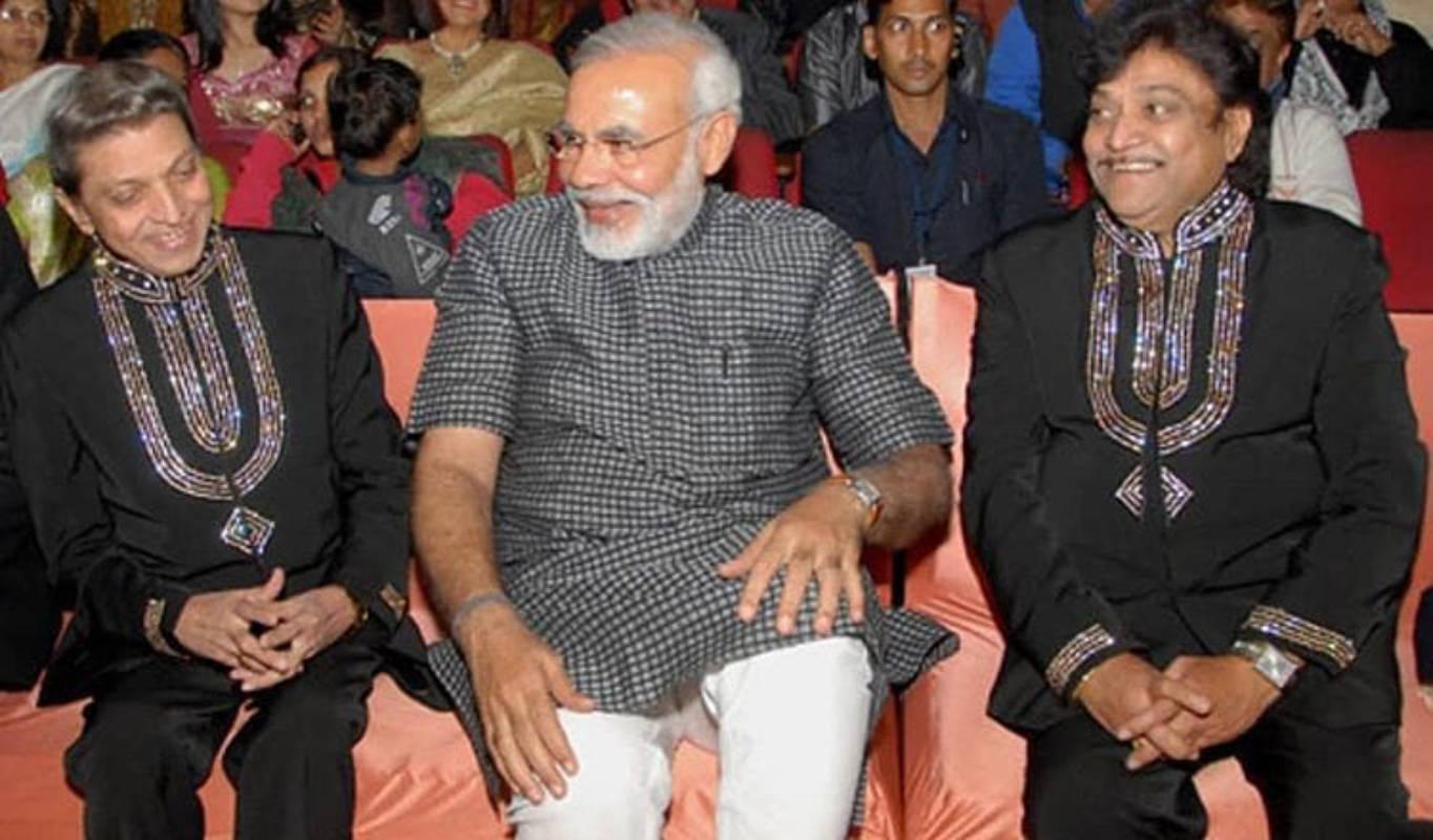 PM Narendra Modi condoles demise of Gujarati musician Mahesh Kanodia and actor Naresh Kanodia