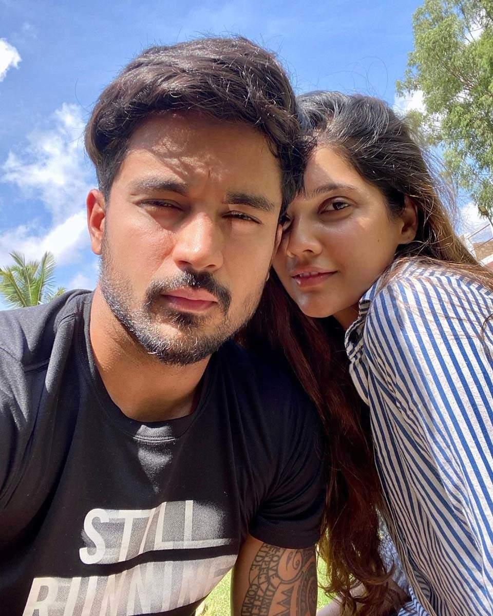 SRH batsman Manish Pandey and his wife actress Ashrita Shetty are major travel junkies