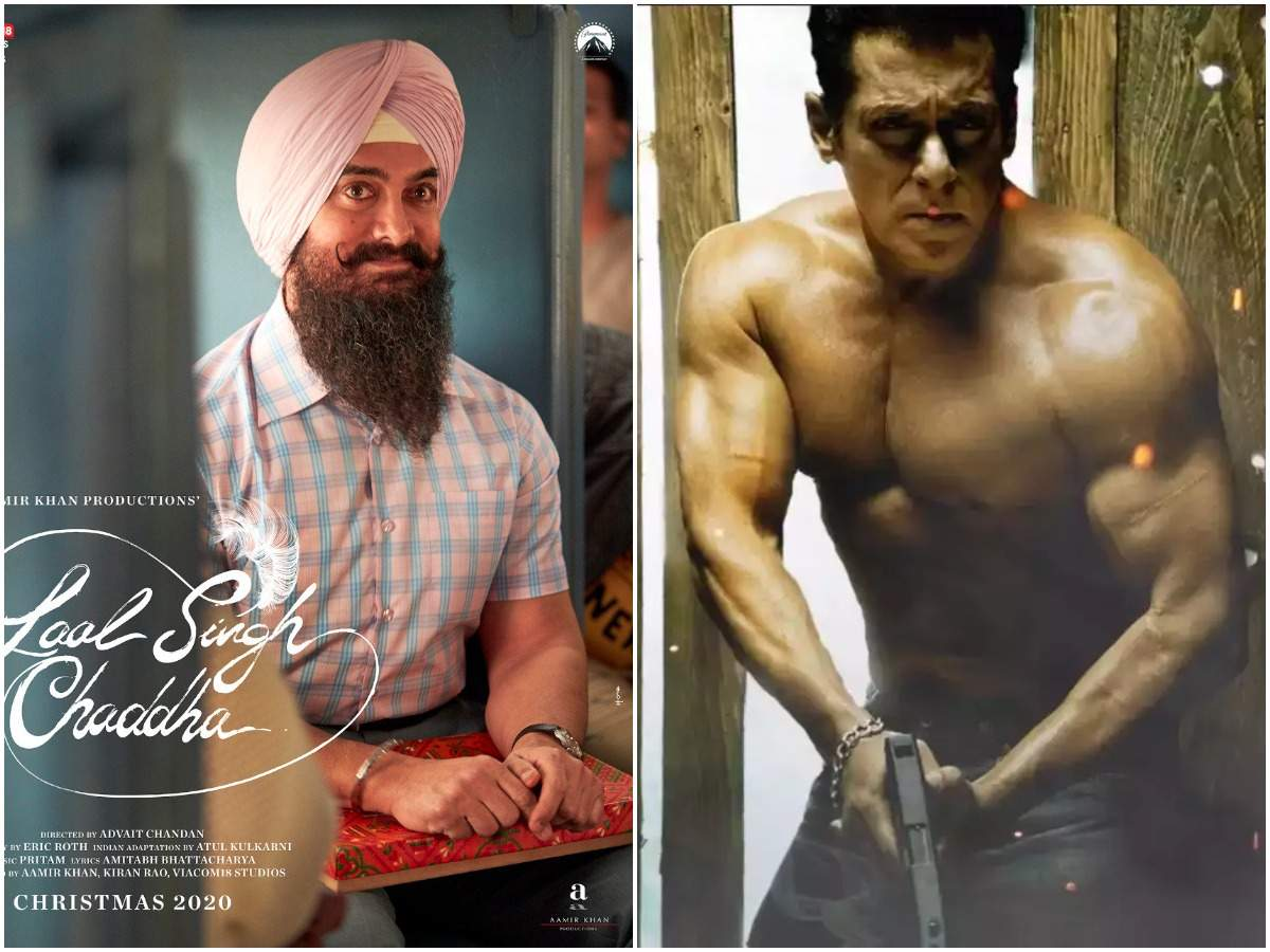 Aamir Khan in Laal Singh Chaddha and Salman Khan in Radhe: Your Most Wanted Bhai