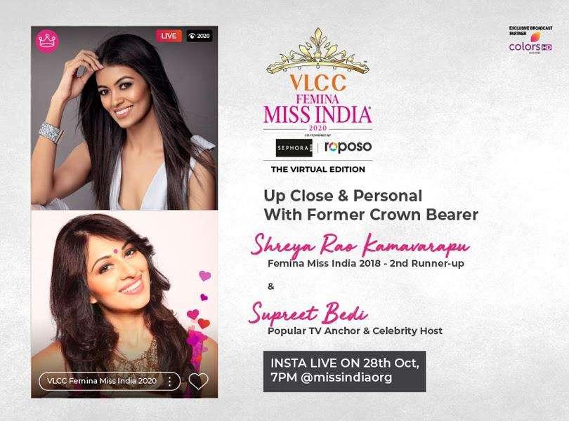 Stay tuned as we go live with Shreya Rao Kamavarapu and Supreet Bedi