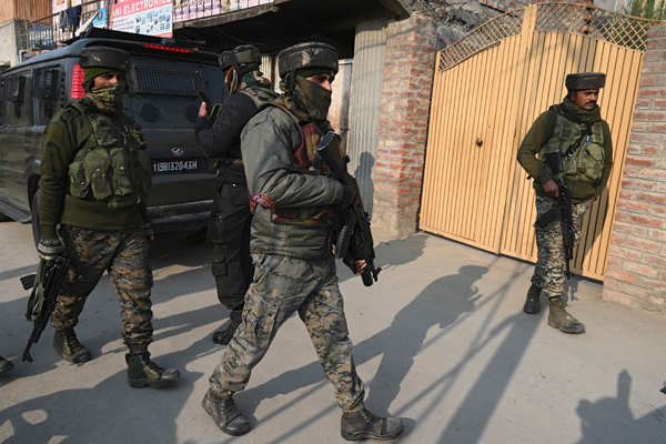Two JeM terrorists killed in Budgam encounter