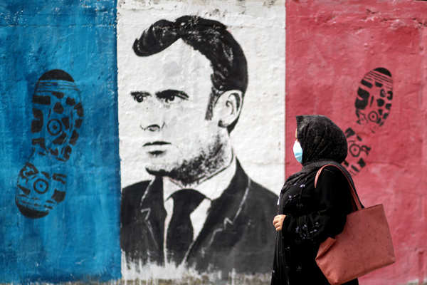 Protests intensified against French president Emmanuel Macron