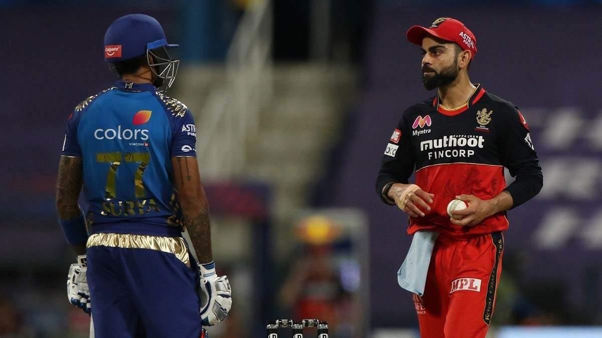 Netizens slam Virat Kohli for sledging MI batsman Suryakumar Yadav