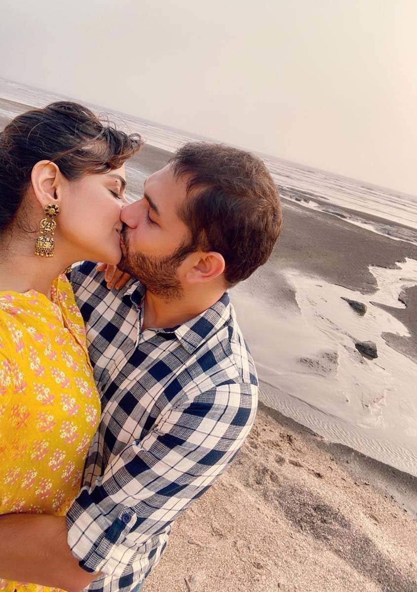 Athlete and actress Prachi Tehlan shares her first PDA picture with hubby Rohit Saroha