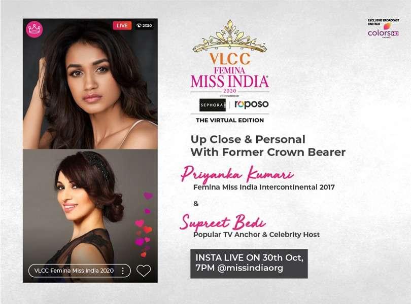 Stay tuned as we go live with Priyanka Kumari and Supreet Bedi