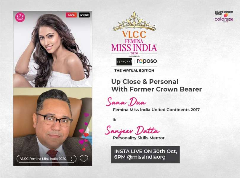 Stay tuned as we go live with Sana Dua and Sanjeev Datta