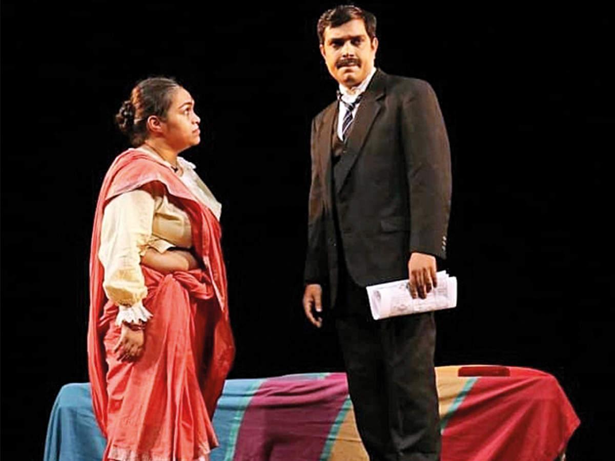 A still from the play Mohan Se Mahatma (BCCL)