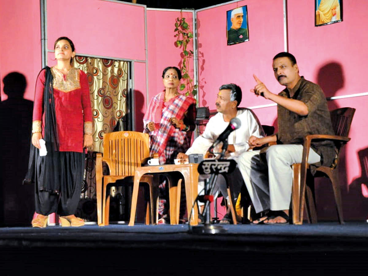The play Purush was also streamed online (BCCL)