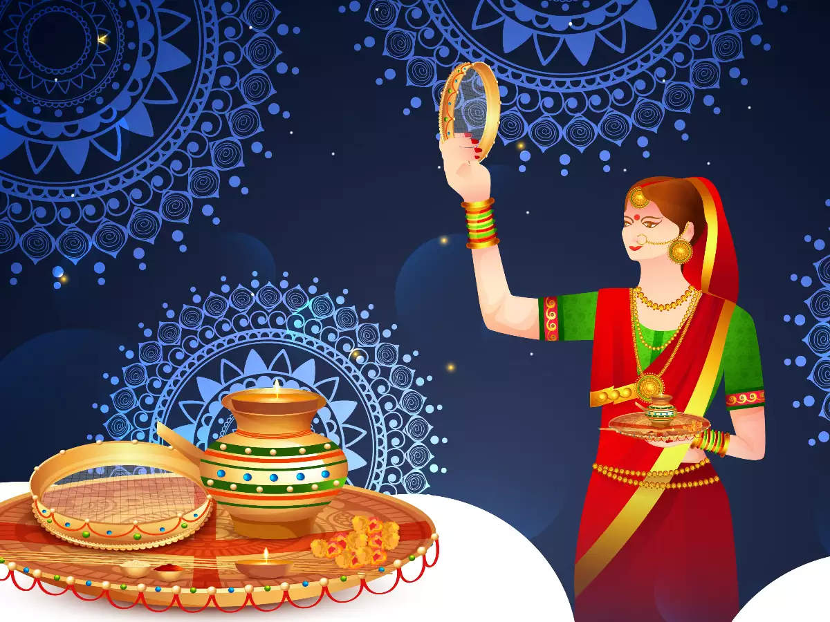 Happy Karwa Chauth 2020: Greetings, Pictures, Wishes & Messages