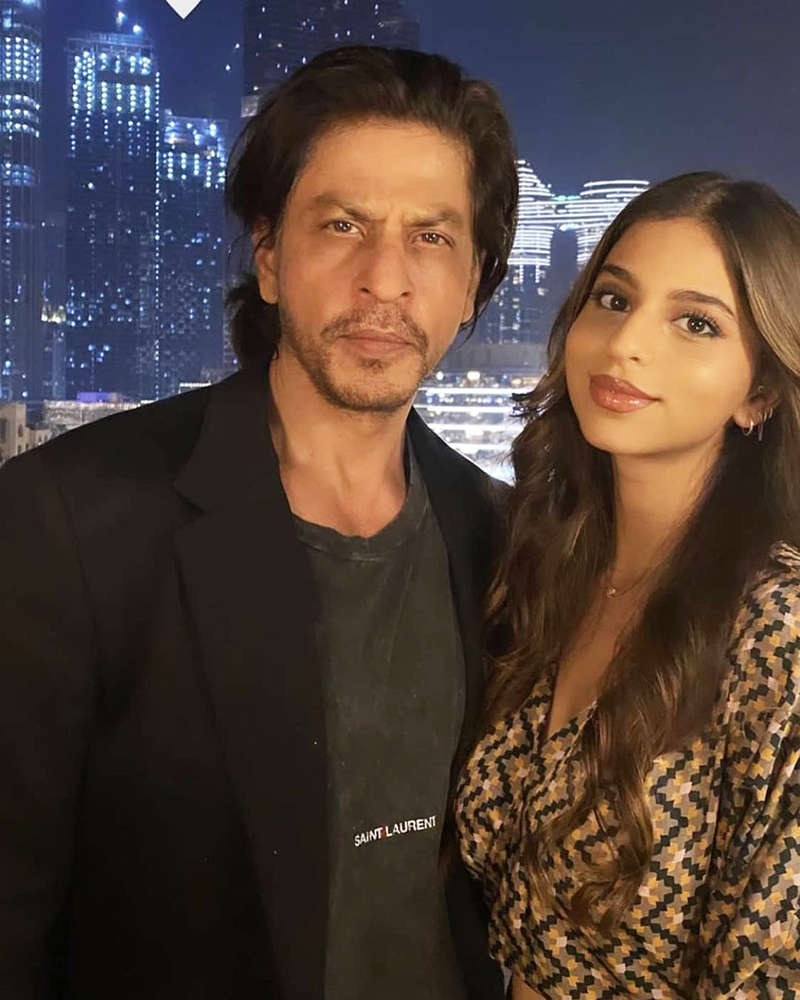 Pictures from Shah Rukh Khan's birthday celebration in Dubai